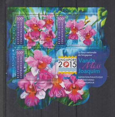 I34. Central Africa - MNH - Nature - Flowers - 2015
