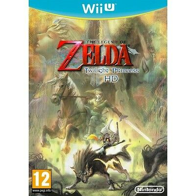 The Legend of Zelda: Twilight Princess HD (Wii U) NEW BUT UNSEALED - AUS IMPORT