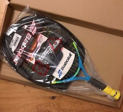 Tennis racket, 21 Babolat Junior ballfighter, with cover, brand new, kids childs