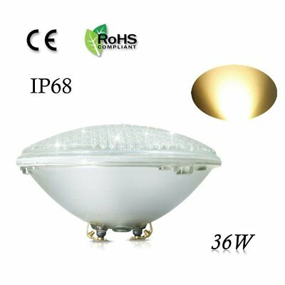 COOLWEST 36W PAR56 LED Swimming Pool Light Replacement Pool Lights Bulb 12V IP68