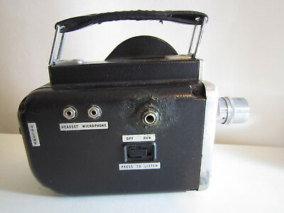 Fairchild Cinephonic Eight Movie Camera Modified As Is