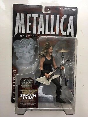 Mcfarlane Musician Series James Hetfield Metallica Figure Harvesters Of Sorrow