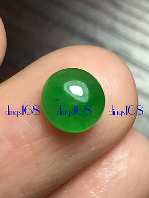 Certified 100% Natural A Jadeite Green egg noodles Pendant Ring Earrings JD468