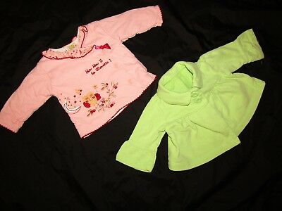 28 Items - Baby Girls Clothing Bundle Joblot Tops Jeans Dresses - Age 0-3 Months