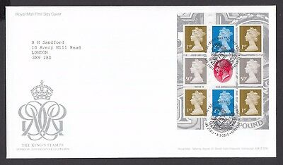 2010  The Kings Stamps  Booklet Pane  - Cancel As Scan    Fdc   (4311)