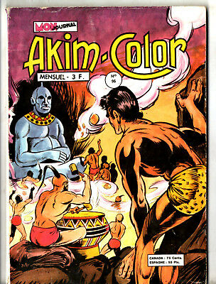 ¤ AKIM COLOR n°96 ¤ 1975 MON JOURNAL