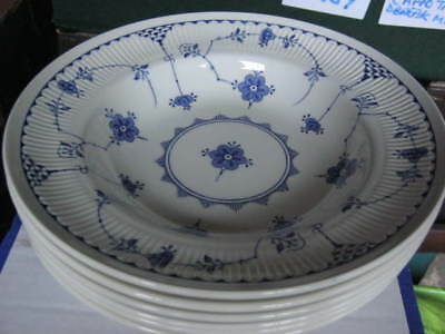 Furnivals Denmark Rimmed Soup Bowl x 1 (3 available)