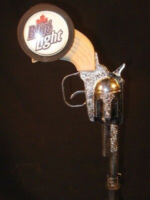 beer tap handle kegorator labatt blue light