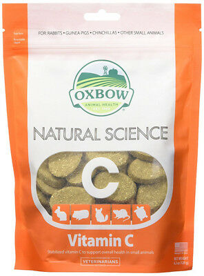 OXBOW - Natural Science Vitamin C Supplement - 60 Tablets (120 g)
