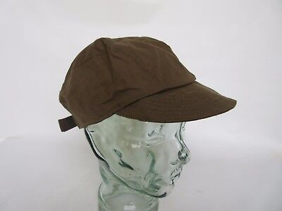 True Vintage Mechanic Engineer Cap 40er Jahre German Style WH WW2 DAK Drillich