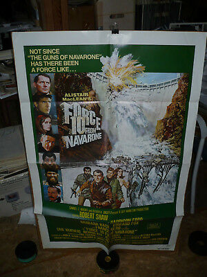 FORCE 10 FROM NAVARONE, orig 1-sht / movie poster (Harrison Ford) - 1978