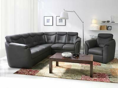 chesterfield kunstleder sofa 3 sitzer neu leder sofa couch garnitur dreisitzer eur 899 00. Black Bedroom Furniture Sets. Home Design Ideas