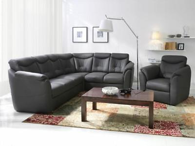 chesterfield kunstleder sofa 3 sitzer neu leder sofa couch. Black Bedroom Furniture Sets. Home Design Ideas