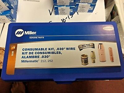 Miller Electric, M 25 MIG Gun Consumable Kit, For .030 wire
