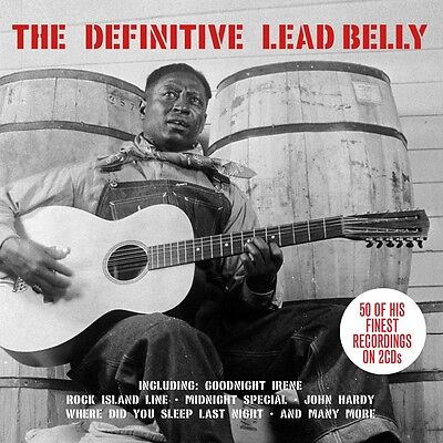 Lead Belly - The Definitive [Best Of / Greatest Hits] 2CD NEW/SEALED