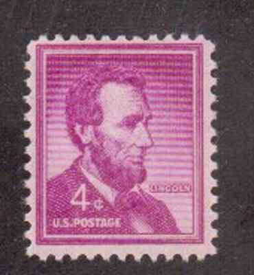 Scott #1036.. 4 Cent...Lincoln...25 Stamps