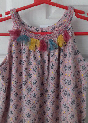 Stretchy Floral Playsuit age 2-3 years RRP £16