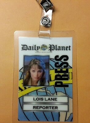 Superman Smallville ID Badge - Lois Lane Reporter costume prop cosplay