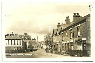 Staffs postcard Burbage Church Street