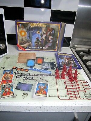 Heroquest WIZARDS OF MORCAR expansion pack complete