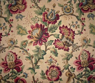 BEAUTIFUL VINTAGE LINEN INDIENNE c1940s-50s, PROJECTS, REF