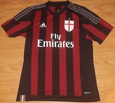 AC Milan Home Football Shirt 2015/16 Large Milano