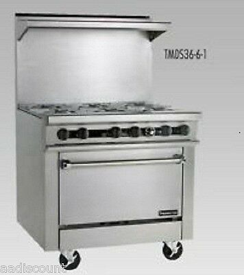 """New Therma-Tek 36"""" Range With 36"""" Griddle And Oven Tmds-36-36G-1"""