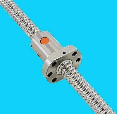 20mm Ball Screw assembly RM2005-L2600mm long and with 3 ball circuit SFU2005-3