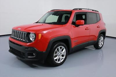 2016 Jeep Renegade  2016 JEEP RENEGADE LATITUDE REAR CAM ALLOYS 34K MILES #C54768 Texas Direct Auto
