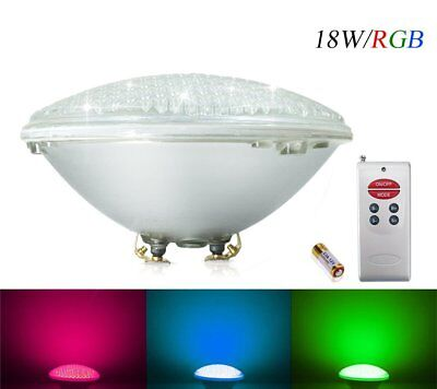 COOLWEST RGB 18W LED Swimming Pool Lighting PAR56 Replacement 150W Halogen Light