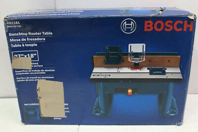 Bosch Benchtop Commercial Router Table Power Tool RA1181