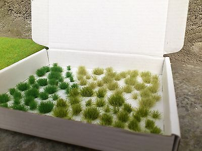 OO/HO Assorted Grass Tufts for Dioramas/Scenery/Gaming