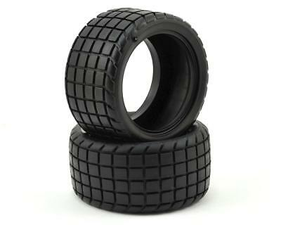 CSW6218 Custom Works Sticker 2 Dirt Oval Rear Tires (2) (HB)
