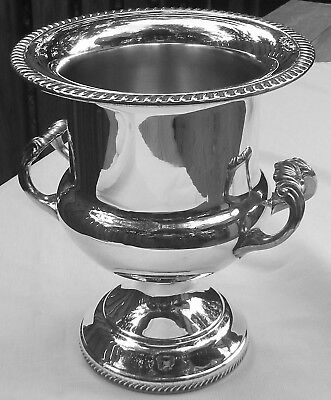 Vintage/Antique International Silver, Silver Plated Trophy Champagne Ice Bucket