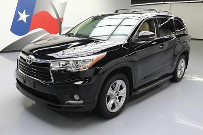 2015 Toyota Highlander Limited Sport Utility 4-Door 2015 TOYOTA HIGHLANDER LIMITED 7-PASS SUNROOF NAV 43K #056003 Texas Direct Auto