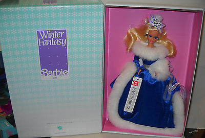 #8117 NRFB FAO Schwarz Winter Fantasy Christmas Barbie