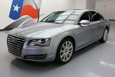 2012 Audi A8 Base Sedan 4-Door 2012 AUDI A8 QUATTRO AWD CLIMATE SEATS SUNROOF NAV 39K #036533 Texas Direct Auto