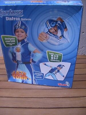 Lazy Town Sportacus Costume New Age 3 to 5 Simba