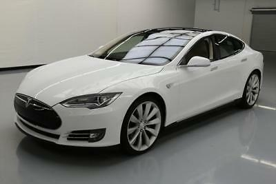 2014 Tesla Model S  2014 TESLA MODEL S P85D AWD TECH AUTOPILOT PANO NAV 12K #P63469 Texas Direct