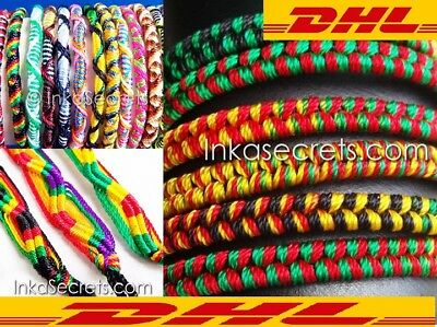 Free Shipping with DHL - 1000 Assorted Friendship Bracelets