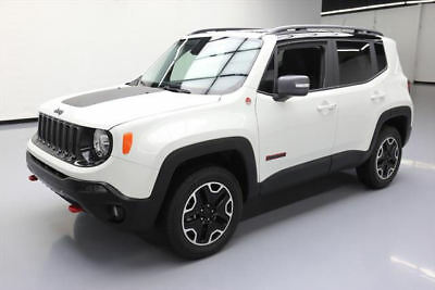 2017 Jeep Renegade  2017 JEEP RENEGADE TRAILHAWK 4X4 REAR CAM BLUETOOTH 7K #E89452 Texas Direct Auto