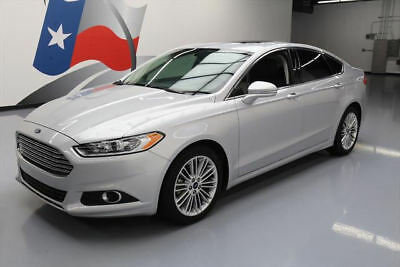 2015 Ford Fusion SE Sedan 4-Door 2015 FORD FUSION SE ECOBOOST TECH LEATHER SUNROOF NAV #252647 Texas Direct Auto