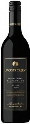 Jacob's Creek `Barossa Signature ` Shiraz 2015 (6 x 750mL), SA.