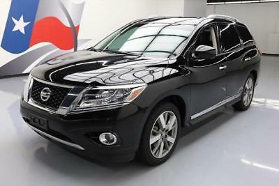 2014 Nissan Pathfinder  2014 NISSAN PATHFINDER PLATINUM PANO ROOF NAV DVD 34K #641253 Texas Direct Auto