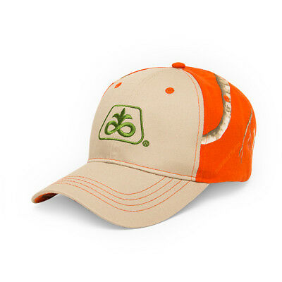 PIONEER SEED *TAN & ORANGE REALTREE APX CAMO* Logo CAP HAT *BRAND NEW* PS60