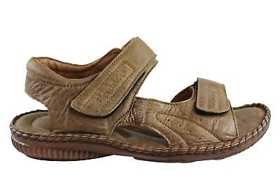 9a8a03f0540c LACOSTE MENS LEATHER Sandals   Sliders Uk Size 7  40.5 brown - EUR 9 ...