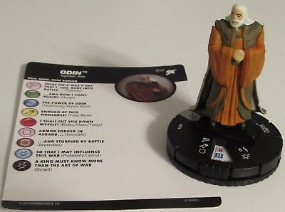 ODIN 014 Thor Ragnarok(Movie) Marvel Heroclix Rare