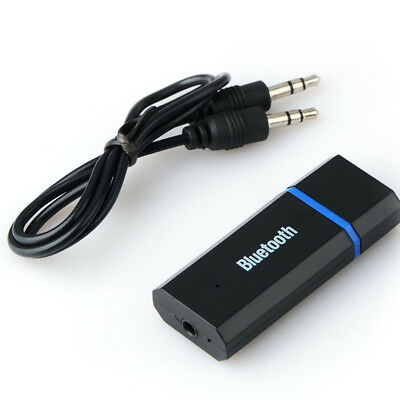 Bluetooth Audio Music Cable Transmitter Dongle USB For TV/PC Headphone Speaker