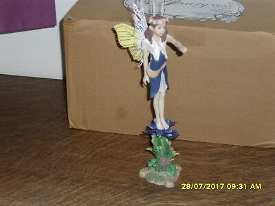 Collectible World  Fairy Way Figurine By Michael Talbot - The Spring Fairy - New