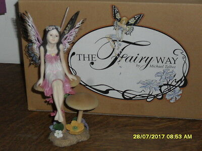 Collectible World - The Fairy Way Figurine By Michael Talbot - Sunkissed - New